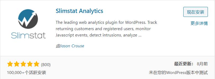 WordPress的统计分析插件:Slimstat Analytics