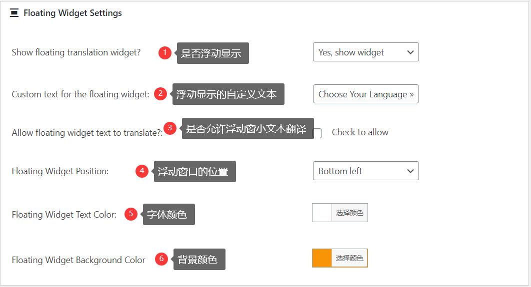 WordPress多语言插件:Google Language Translator
