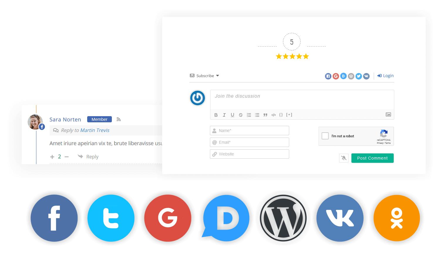 wpDiscuz社交登录和评论|  屏幕截图#9