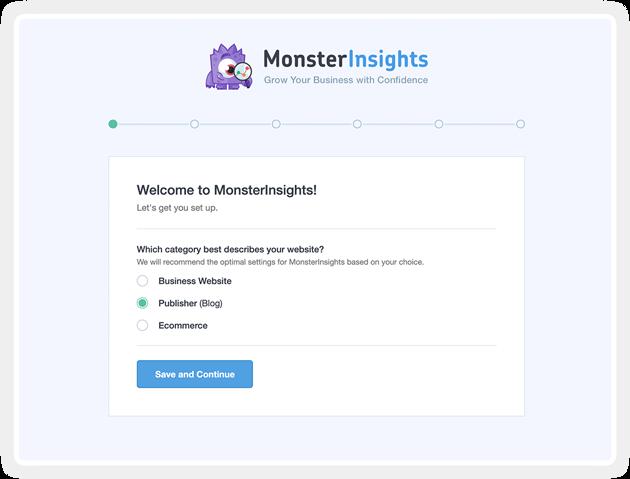 Monsterinsights插件:非常优秀的WordPress数据分析插件